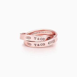 Tiffany & Co Rubedo Interlocking Ring